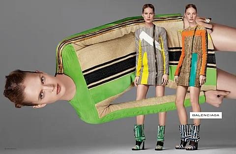 Balenciaga Spring Summer 2010 Ad Campaign