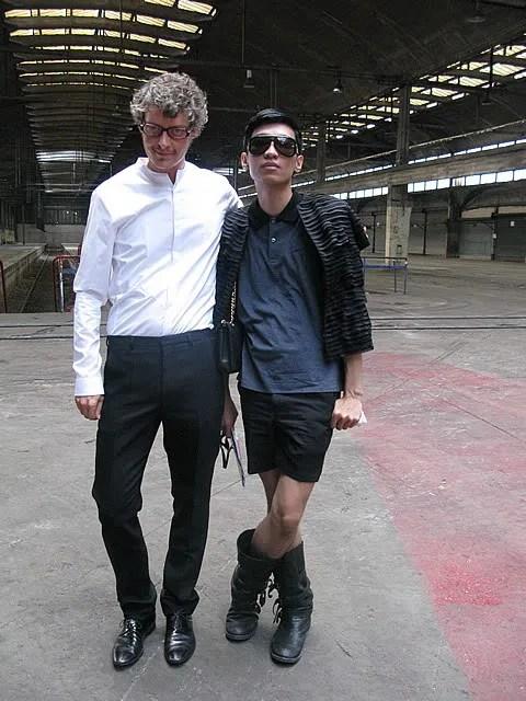 Bryanboy and Bruno Pieters