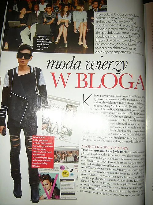 Bryanboy at Elle Poland