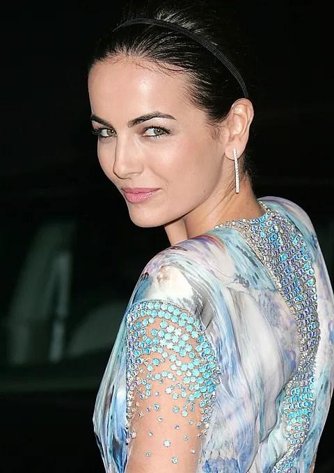 Camilla Belle in Alexander McQueen Spring 2010 dress at 2012 Movie Premiere