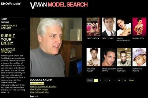 Douglas Knupp for V Man, Ford and Showstudio V a Model