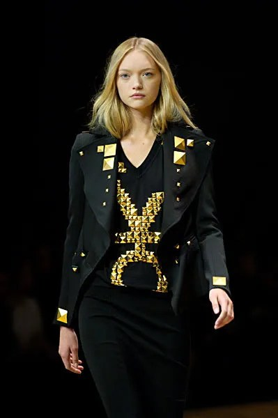 Gemma Ward, photo of Givenchy Fall 2007 collection