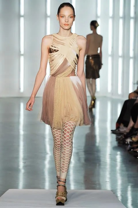 Jules Mordovets Rodarte Fall/Winter 2009