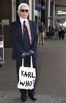 Karl Who Tote Bag