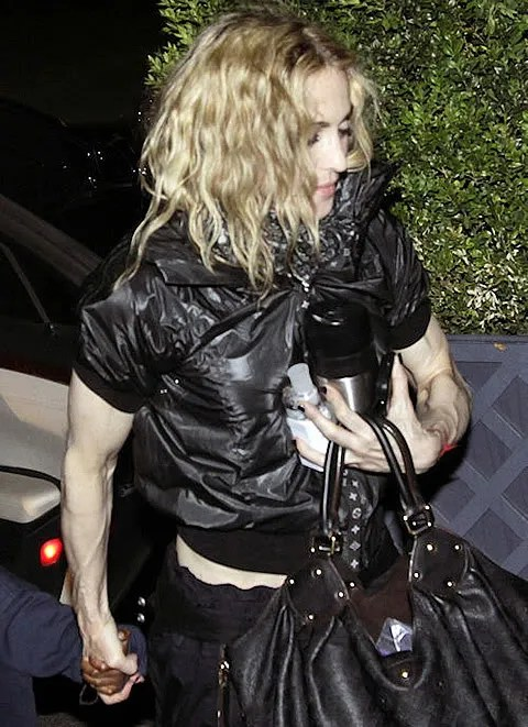 Madonna's Muscular Arms