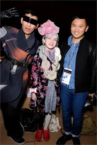 Fashion Bloggers Bryanboy, Tavi, Tommy Ton