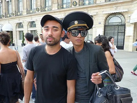 Bryanboy and Nicola Formichetti