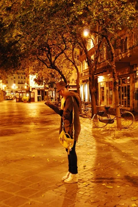 Bryanboy in Paris at Night Pictures