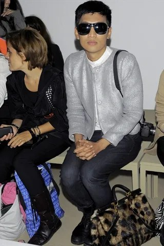 Bryanboy at Jil Sander Spring Summer 2011