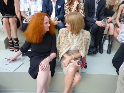 Chanel Haute Couture - Grace Coddington and Anna Wintour