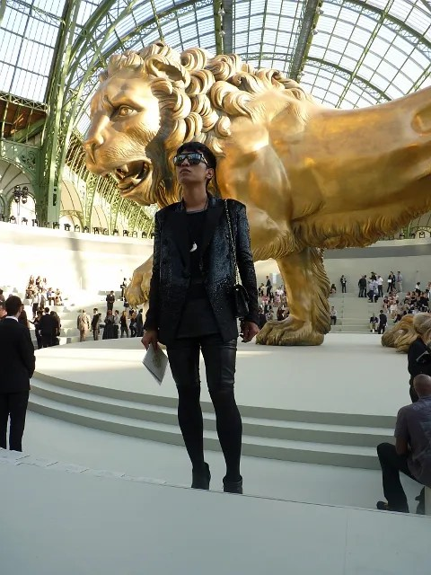 Bryanboy at Chanel Haute Couture Fall 2010