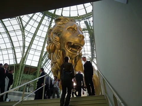 Chanel Haute Couture Fall Winter 2010 Lion