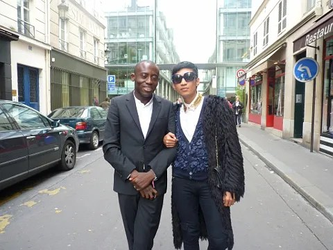Edward Enninful and Bryanboy