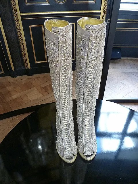 Givenchy Boots - Haute Couture Fall 2010