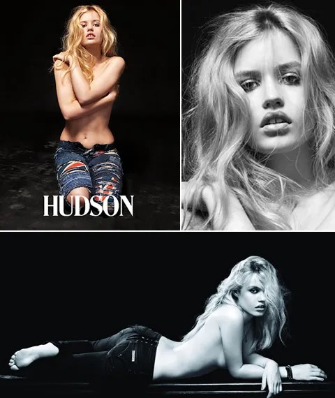 Georgia May Jagger for Hudson Jeans