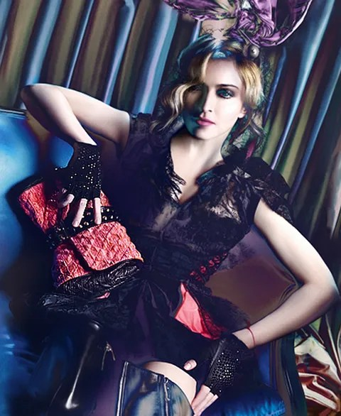 Madonna for Louis Vuitton, Unretouched Photos