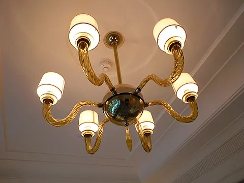 St. Regis Singapore Hotel chandelier