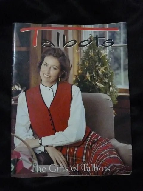 Talbots Catalog Holiday 1996