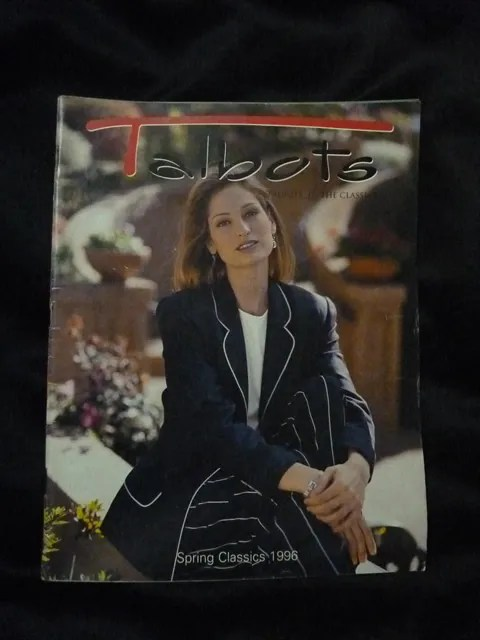 Talbots Catalog Spring Classics 1996