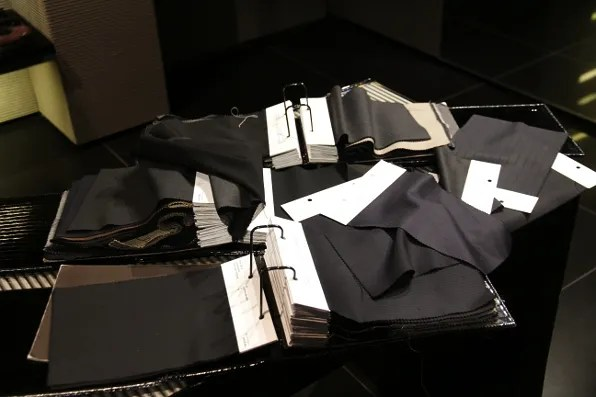 Giorgio Armani Made to Measure suit fabrics