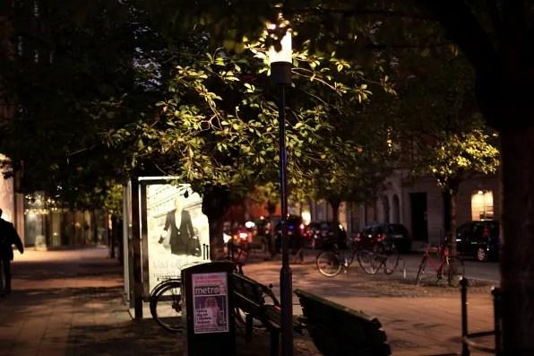 Night stroll in Stockholm