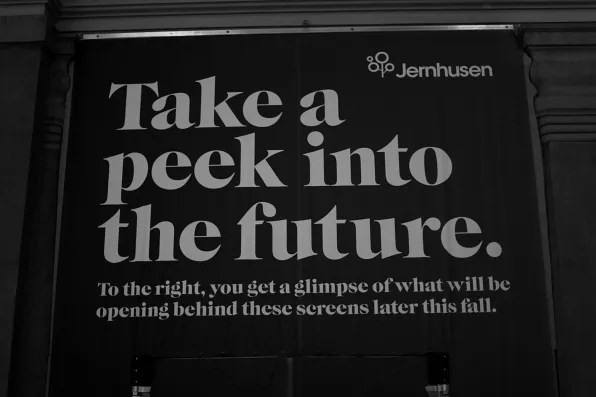 Take a peek into the future