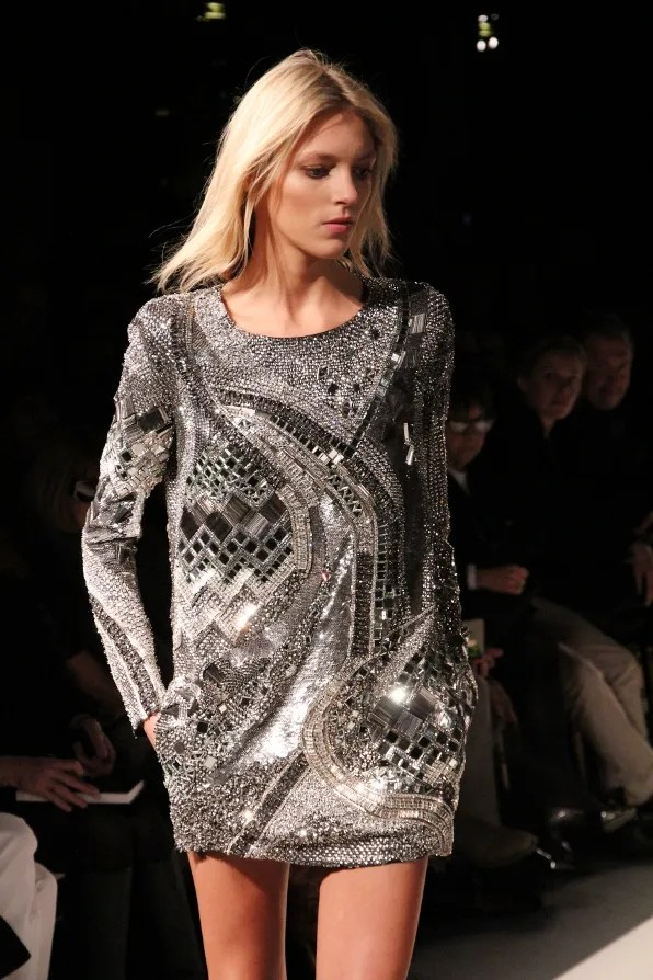 Fall winter 2011 Balmain dress