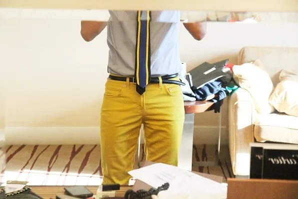 Yellow Filippa K jeans