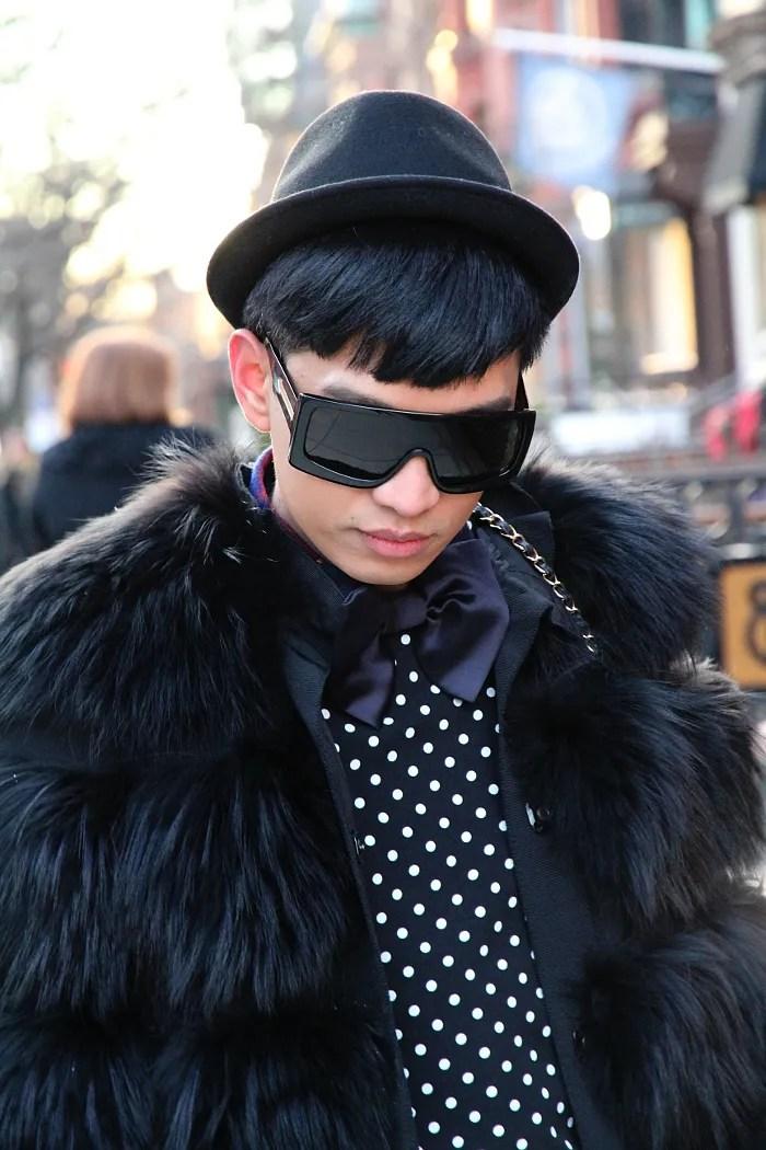 Dolce & Gabbana fox fur jacket in Boston