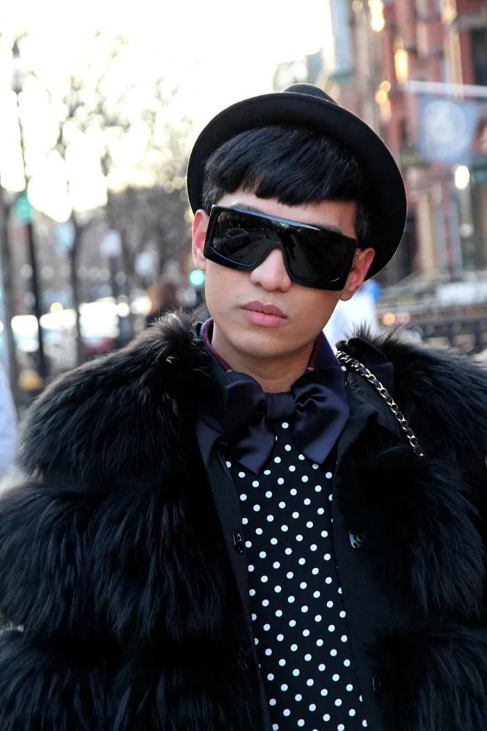 Bryanboy in Boston wearing Dolce & Gabbana