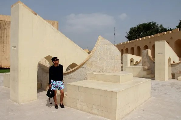 India Golden Triangle Tour - Jantar Mantar in Jaipur