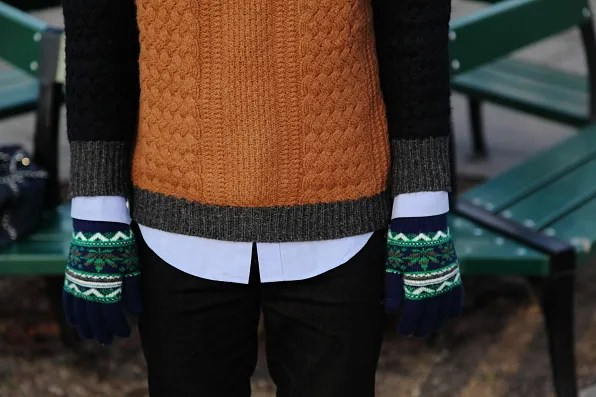 Zara knitted sweater