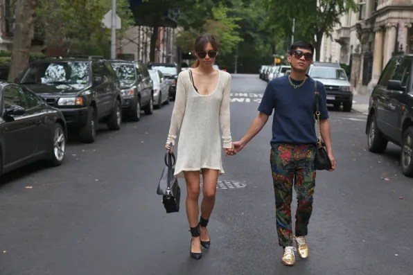 Bryanboy and Rumi Neely in New York