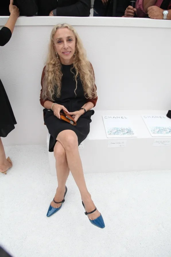 Franca Sozzani at Chanel spring summer 2012 fashion show