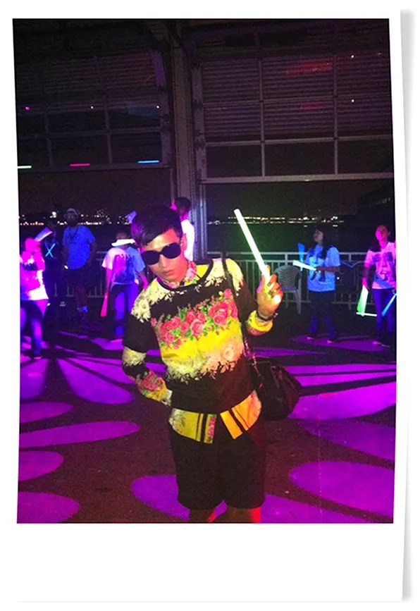 Frat Party - Bryanboy at Alexander Wang Spring Summer 2012 afterparty