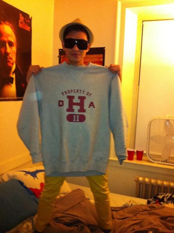 Bryanboy as Harvard Water Polo Team Jock