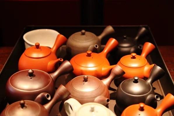 CHA Ginza teapots