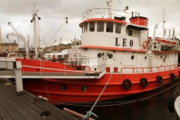 Leo boat, Stockholm