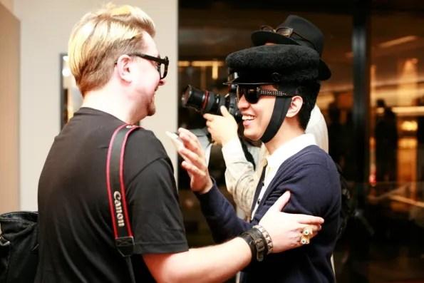 Bryanboy and Dan of Tokyo Dandy