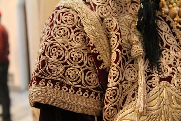 Moroccan caftan embroidery