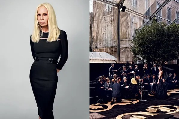 New York Magazine Fall 2011 Fashion Issue - Donatella Versace