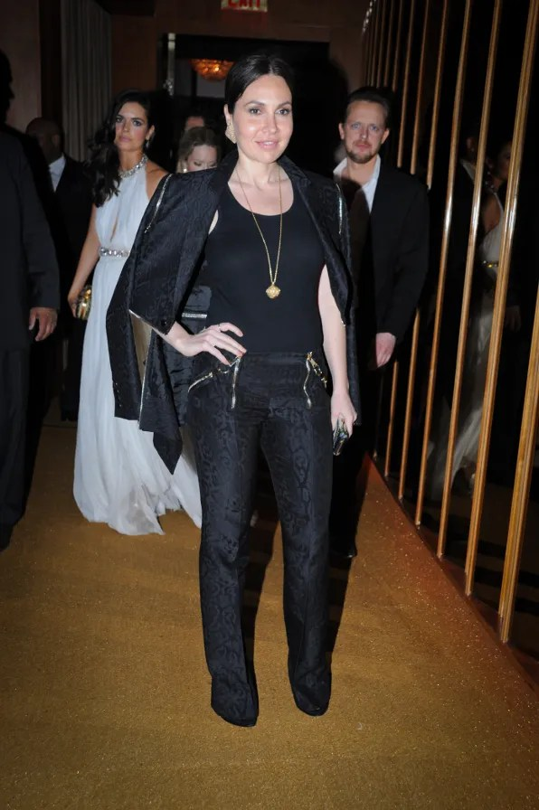 Fabiola Beracasa at the Top of the Standard Hotel 2011 Met Ball After Party