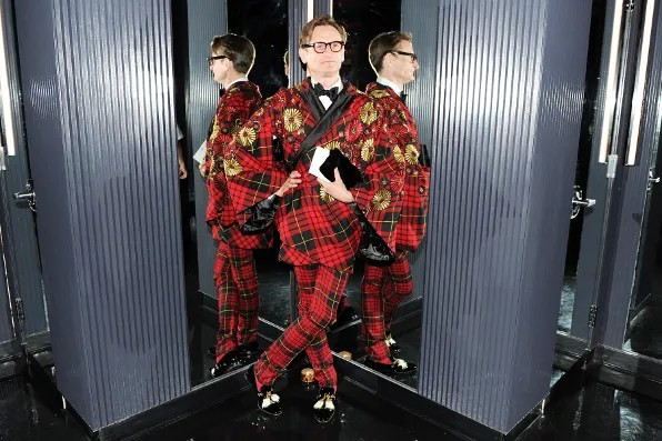 Hamish Bowles at the Top of the Standard Hotel 2011 Met Ball After Party