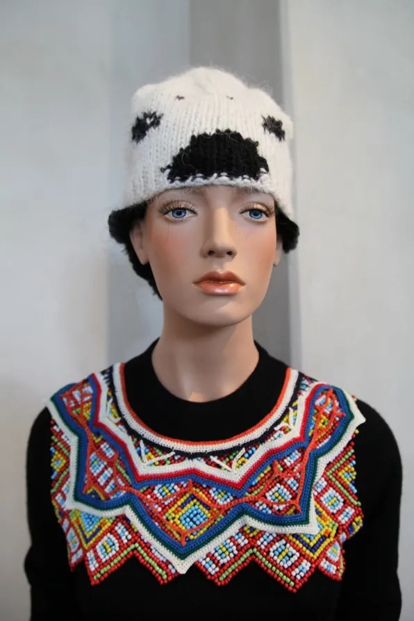 Peter Jensen 'Muses' Exhibition - beaded sweater from his Jytte collection