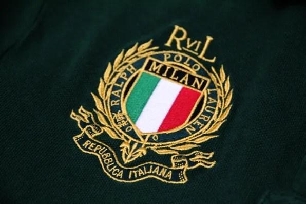 Bryanboy's custom Ralph Lauren polo shirt