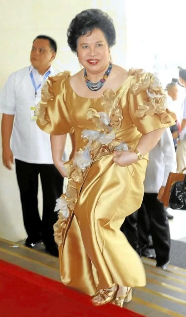 Philippine SONA 2011 Miriam Defensor Santiago