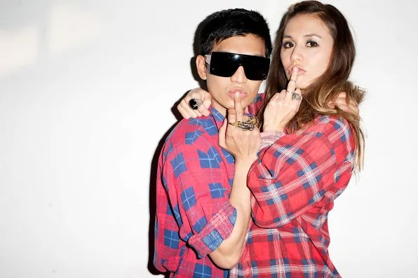 Bryanboy and Rumi Neely shot by Terry Richardson