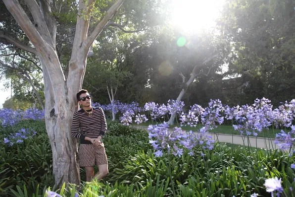 Bryanboy in Beverly Hills, Los Angeles California