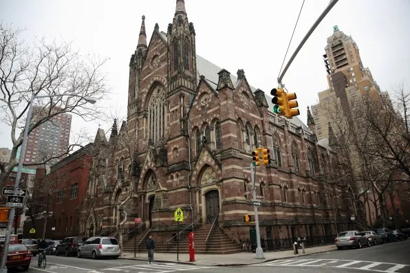 A church in Brooklyn Heights