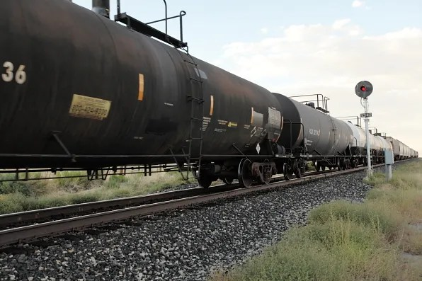 Gas train in Winnemucca, Nevada
